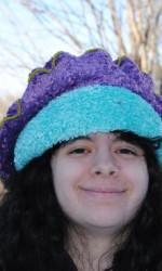 Fuzzy Purple & Aqua